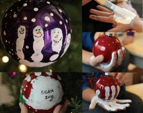 Как сделать шары своими руками к новому